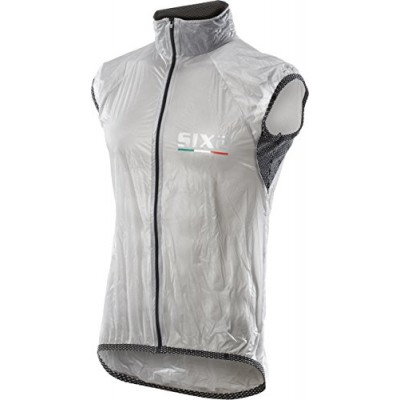 Gilet Antivento Trasparent Adulto Carbon L Unisex Nero